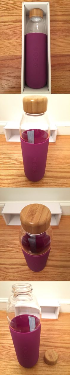 Hydration 158950: Soma Glass Water Bottle Purple 17Oz Bpa-Free And Eco-Friendly Brand New -> BUY IT NOW ONLY: $35.95 on eBay!