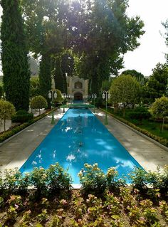 Hotel Abbasi ● Isfahan ● Iran ● Photo by Pedro Gonçalves ● @gonalves0022