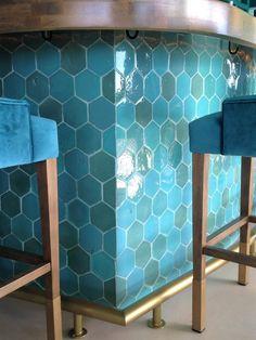 Custom hexagon tile   Handmade Terracotta Hexagon Tiles, Terracota, Bespoke, Contemporary, Rugs, Handmade, Home Decor, Handmade Tiles, Flooring
