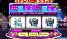 Macau nights slot game - Get a feel of Macau at home!