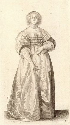 File:Wenceslas Hollar - Lady with ribbon round her waist (State 2).jpg