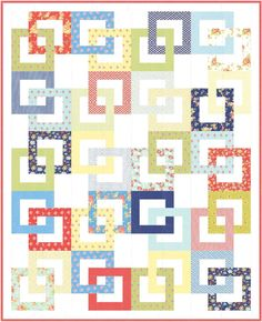 jellyroll quilts Linked an easy jellyroll pdf pattern Scrappy Quilt Patterns, Heart Quilt Pattern, Jelly Roll Quilt Patterns, Jellyroll Quilts, Quilting Ideas, Scrappy Quilts, Quilting Projects, Sewing Projects, 3d Quilts