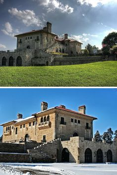 The Marland Mansion & Estate in Ponca City is a beautiful destination any time of year! Take a tour of this over 40,000 sq ft mansion and be stunned by elegance and amazing architecture.