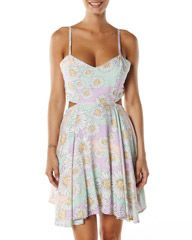 Mink pink sun dress