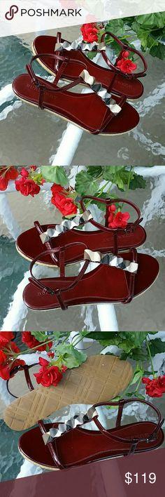Authentic burberry sandals Excellent condition Burberry Shoes