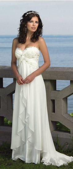 Beach Wedding dress; Absolutely GORGEOUS