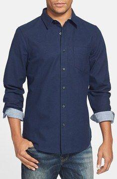 1901 Brushed Cotton Flannel Shirt on shopstyle.com