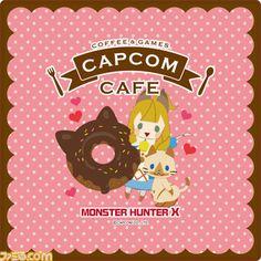 カプコンカフェにて『モンスターハンタークロス』とコラボしたバレンタインアイテムが1月23日より発売決定【拡大画像】 - ファミ通.com