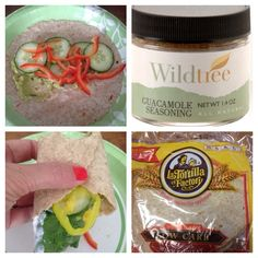 Health, Happiness & Homemade: Delicious Veggie Wraps with WILDTREE Guacamole