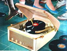 Vintage music record player!