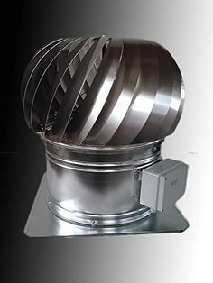 Hybrid turbine ventilator HV400(15,75', Hard aluminium (duralumin)) ** Click image to review more details.