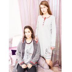 pijama bata señora pantalon camiseta largo leggings conejo rayas azul marino rojo algodon robe pajama rabbit homewear sleepwear invierno winter gris grey vigore camison