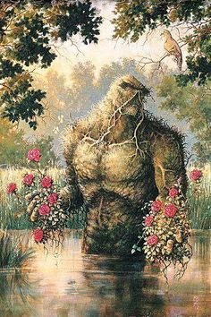 Alan Moore's - Swamp Thing: Brought literature back to comics.