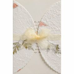 Wilton Print-Your-Own Invitations Kit - Floral/Ivory