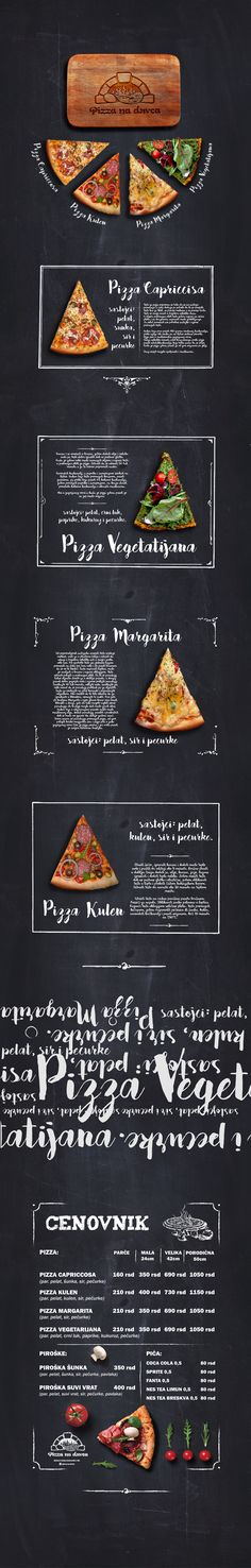 Graphic design for pizza fast food Logo Pizzeria, Pizzeria Design, Restaurant Menu Design, Restaurant Branding, Bakery Menu, Pizza Menu Design, Food Menu Design, Food Poster Design, Speisenkarten Designs
