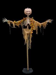 Abracadaver Productions pumpkin scarecrow