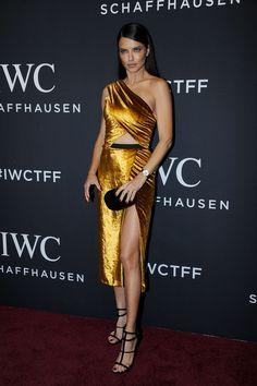 Adriana Lima in Jason Wu Adriana Lima, Top Models, Irina Shayk, Celebrity Dresses, Celebrity Style, Sexy Dresses, Nice Dresses, Dress Skirt, Dress Up