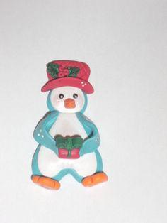 Magnet pinguin fimo!