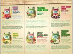 Mariano's smoothie menu