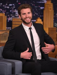 """Liam Hemsworth Visits """"The Tonight Show Starring Jimmy Fallon"""" at Rockefeller Center on June 13, 2016 in New York City."""