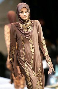 New and Trendy Saudi Hijab Styles # 15