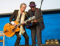 Keith & Elvis Costello on stage by OCC_Main, via Flickr