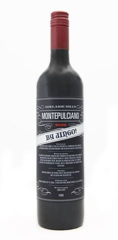 By Jingo Wines 2006 Montepulciano