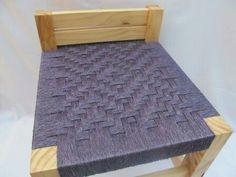 Sillas con tejidos únicos en fibras naturales . artesaniadardo@gmail.com