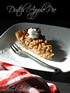 Best Dutch Apple Pie w: easy crust Recipe (no roll pie dough!)