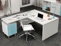 Mesa de despacho Manager Home Office, Office Desk, Corner Desk, Room, Furniture, Home Decor, Handmade, Art, Shopping