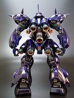 Painted Build: MG Kampfer Chrome Gundam Flauros, Crazy Robot, Gundam Astray, Humanoid Robot, Gundam Mobile Suit, Gundam Custom Build, Kendo, Gundam Model, Anime Comics