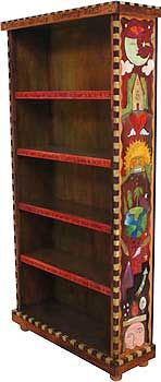 even though I have no talent I really want to do this to one of my bookcases.