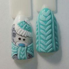 1000 nail art Ideas nail designs naildesignchristmas naildesignrosa na Xmas Nails, Holiday Nails, Diy Nails, Cute Nails, Christmas Nail Designs, Christmas Nail Art, Nail Design Rosa, Sweater Nails, Nail Art Videos