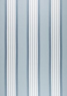 EMERSON STRIPE, Slate, W80112, Collection Woven 9: Plaids & Stripes from Thibaut