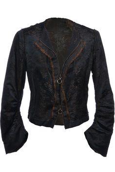 #Lanvin | In sich gemusterte Jacke mit Inside-Out Nähten Gr. M | Lanvin #Jacke | mymint-shop.com | Ihr #OnlineShop für #Secondhand / Vintage #Designerkleidung & #Accessoires bis zu -90% vom Neupreis das ganze Jahr #mymint