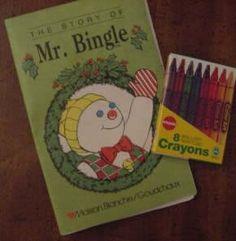vintage mr bingle   2003 Mr.Bingle Christmas Bell