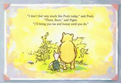 Sometimes we all feel like Pooh...am I right??