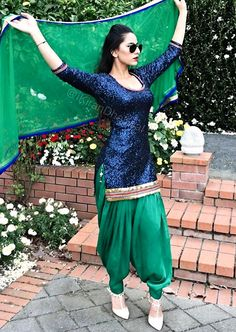 KIRAN DHALIWAL                                                                                                                                                                                 More Punjabi Girls, Punjabi Dress, Punjabi Suits, Pakistani Dresses, Indian Dresses, Salwar Suits, Anarkali Dress, Indian Suits, Indian Attire