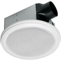 Brushed Nickel Bathroom Vent Fan Light Combination Combo Exhaust - Decorative bathroom exhaust fan with light for bathroom decor ideas