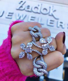 Women's Jewelry, Stocking Stuffers, Flower Power, Stockings, Jewels, Diamond, Bracelets, Instagram, Fashion