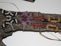 Macrame Bracelet  butterfly