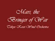 The Planets: Mars, the Bringer of War - by Gustav Holst, performed by the Tokyo Kosei Wind Orchestra