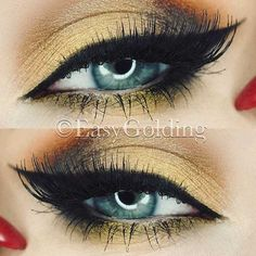 Wonderful Ideas for Your Cat Eye Makeup picture 3
