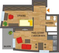 Rzut mieszkania Nasa, Floor Plans, Google, Diagram, Facades, Home, Ad Home, Homes, Facade