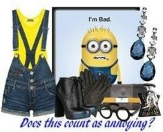 OMG AMA DIE WHERE CAN I BUY THIS TO MATCH MY FAV MINION THAT IS MY HUSBAND LMAO I WANT THIS SO FREAKING BAD !!!!!!