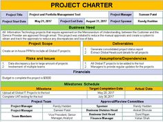Project Charter template PPT captures all the key information about projects & formally authorizes a project giving the project manager the authority to execute the project and obtain the required resources. Project Management Dashboard, Project Management Templates, Change Management, Business Management, Business Planning, Project Planning Template, Project Charter, Project Management Professional, Professional Development