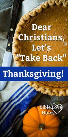 Let's Take Back Thanksgiving!!