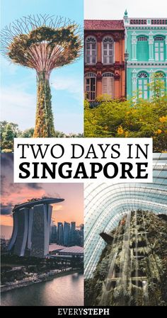 You only have 2 days in Singapore? Yep, doable! Singapore offers a ton of things to do and places to visit, but it's still possible to to see the best of Singapore in just 48 hours. But you have to follow this ultimate two days in Singapore itinerary to make the most out of your visit, so go check it out! #singapore #singaporeitinerary #singaporetravel #itinerary #2days #48hours #sgtravel