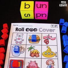 CVC words games Short Vowel Activities, First Grade Activities, 1st Grade Worksheets, Phonics Activities, Kindergarten Activities, Sight Word Sentences, Cvc Words, Cvc Word Families, Phonics Sounds