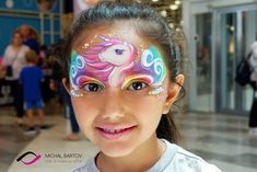 unicorn face paint with water colors. Unicorn Face, Water Colors, Carnival, Painting, Carnavals, Painting Art, Carnivals, Paintings, Watercolor Paintings